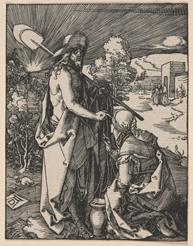 Christ Appearing to Mary Magdalene. Courtesy  https://risdmuseum.org/ , in the public domain.